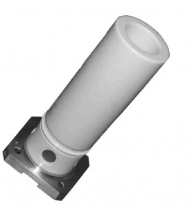 Ceramic XRD tube